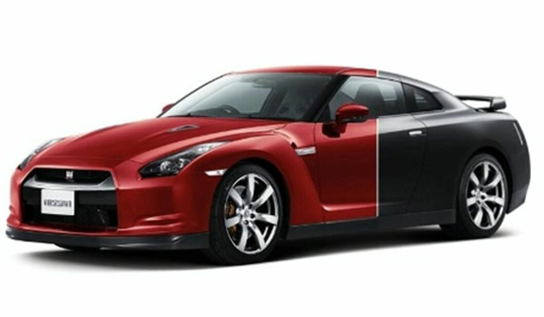 Nissan finner opp fargen på ny