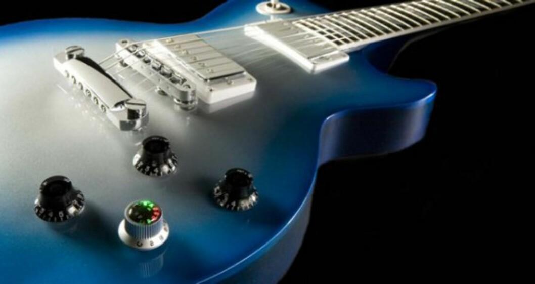 Robotic Guitar stemmer seg selv