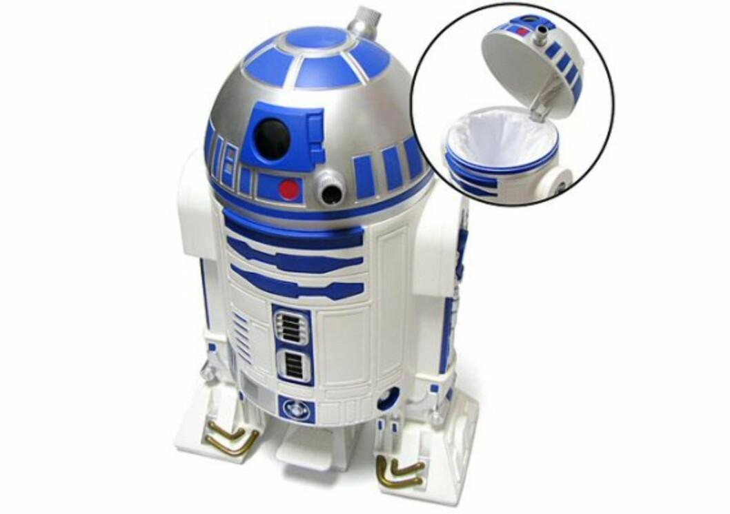 R2-D2 som søppelbøtte