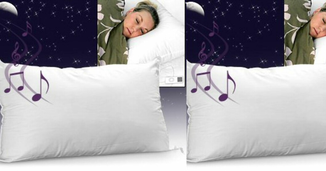 Sound Asleep Pillow er musikalsk