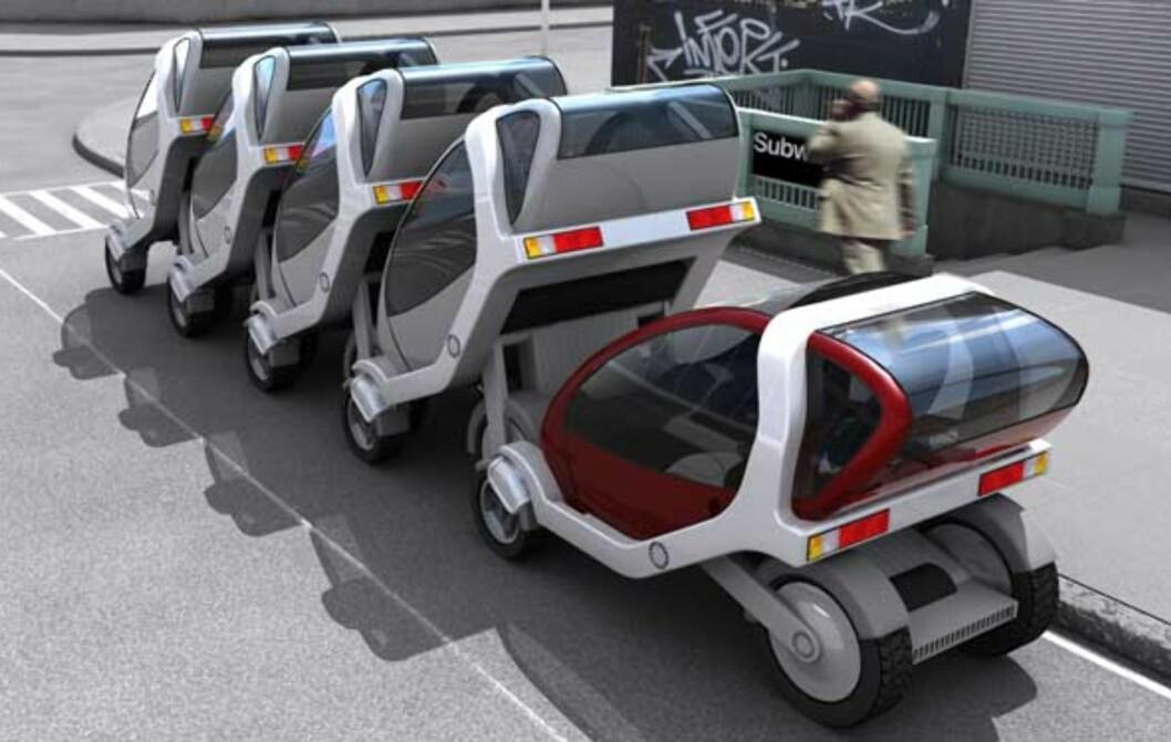 Her er framtidsbilen