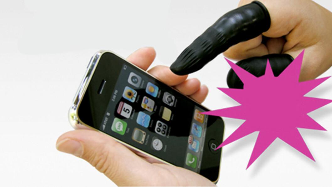 Fingernem telefon-finger