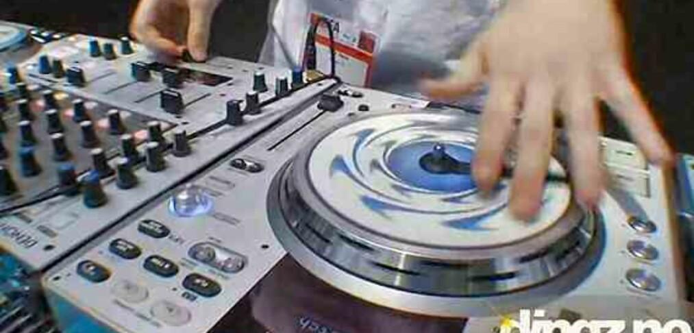 DJ-utstyr for proffene