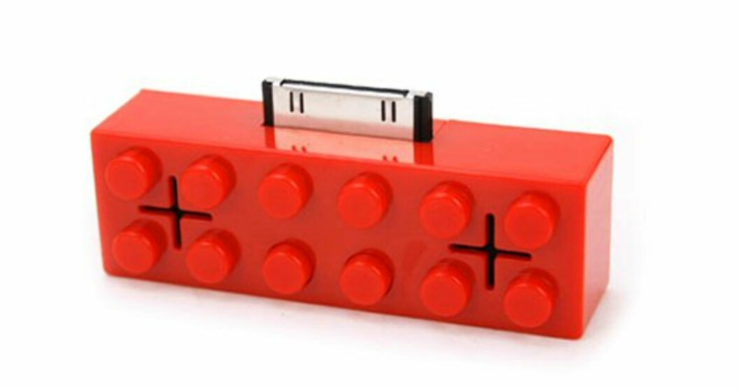 Denne Lego-brikken er en iPod-dock
