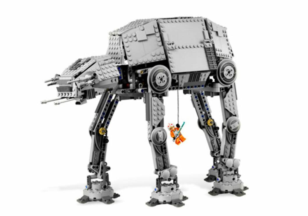 Lego AT-AT er tøff-tøff!