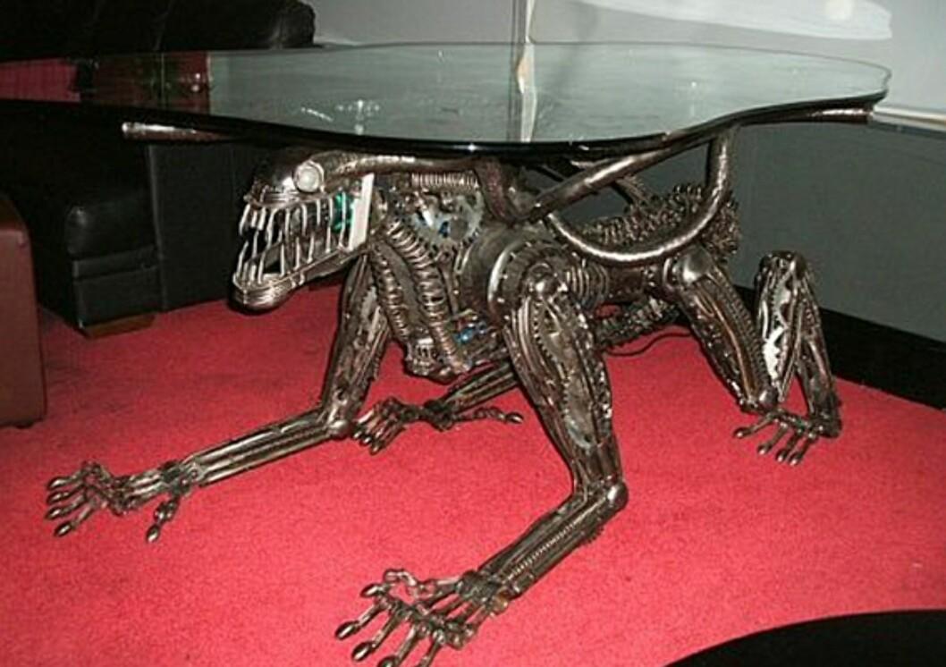 Alien furniture er ikke for de sarte