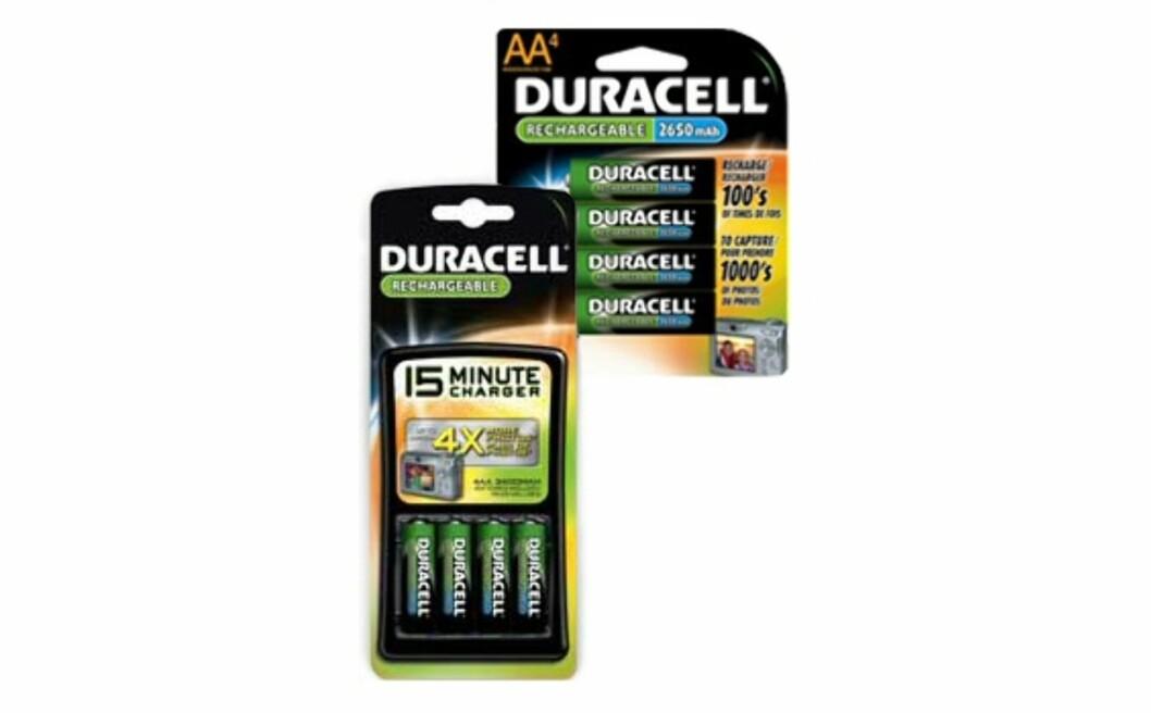 Smarte batterier fra Duracell