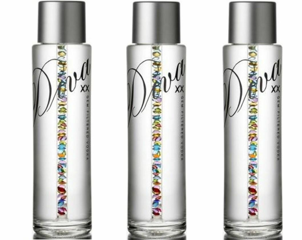 DIVA Premium Vodka koster flesk