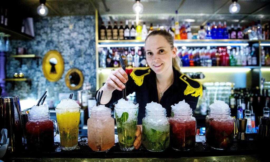 FARGERIKT SIRKUS: Pincho Nation er en slags restaurant hvor du får litt sirkus på kjøpet.
