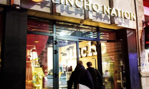 SENTRALT: Pincho Nation ligger helt nederst på Karl Johan ved Jernbanetorget.