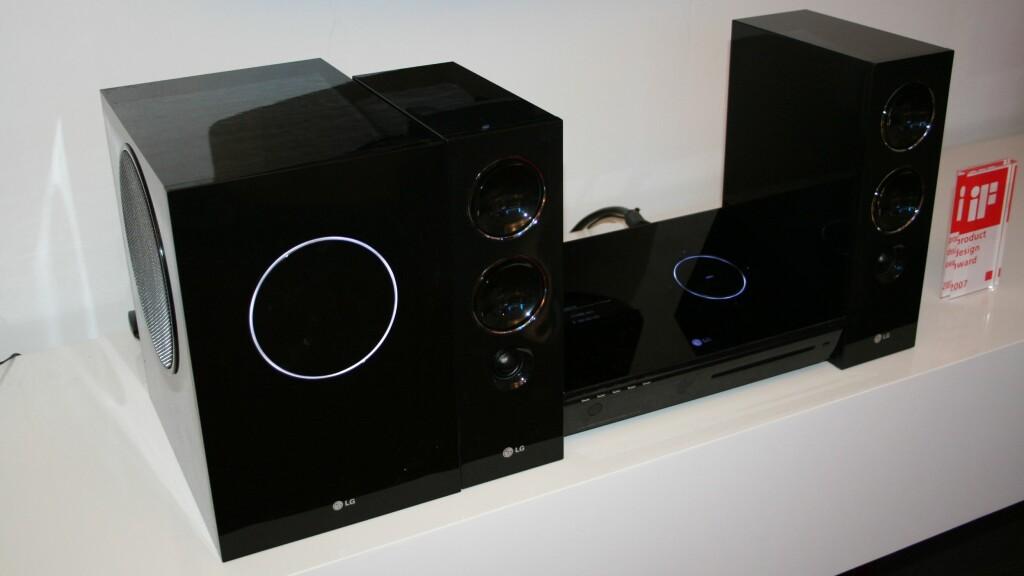 LHT790 er et griselekkert anlegg fra LG. Full 5.1-surround og oppskalering til 1080i er noe av det du får.