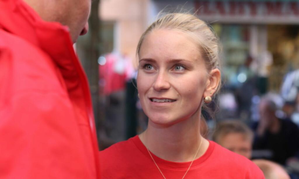 VARSLER: Line Oma hevder hun er en av varslerne i Giske-saken. Foto: Bent Sønvisen.