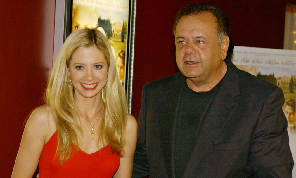 <strong>SINT:</strong> Skuespiller Paul Sorvino truer Harvey Weinstein på livet etter at han skal ha sextrakassert datteren Mira Sorvino. Nå skaper han overskrifter verden over. Foto: NTB Scanpix