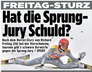 FAKSIMILE: - Har juryen skylda? spør den tyske storavisa Bild fredag.