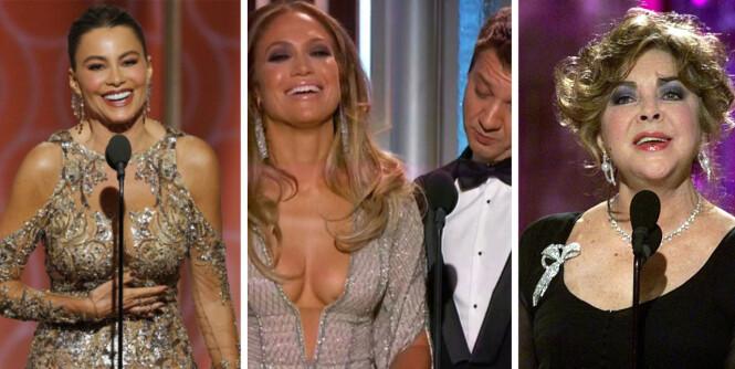 Her er Golden Globe-øyeblikkene vi aldri glemmer
