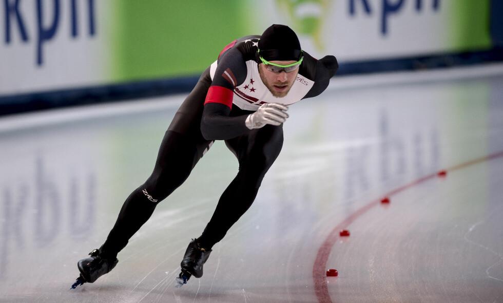 SKANDALE: Haralds Silovs skulle egentlig blitt kåret til EM-vinner, men ble til slutt plassert på 11. plass. Foto: Carina Johansen / NTB Scanpix