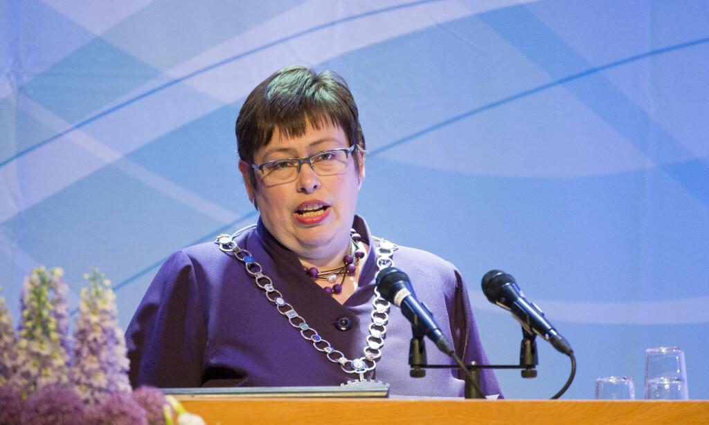 STILLER: Trondheims ordfører gjennom 15 år, Rita Ottervik (Ap), melder onsdag at hun stiller til gjenvalg under kommunevalget 2019. Foto: Ned Alley / NTB scanpix
