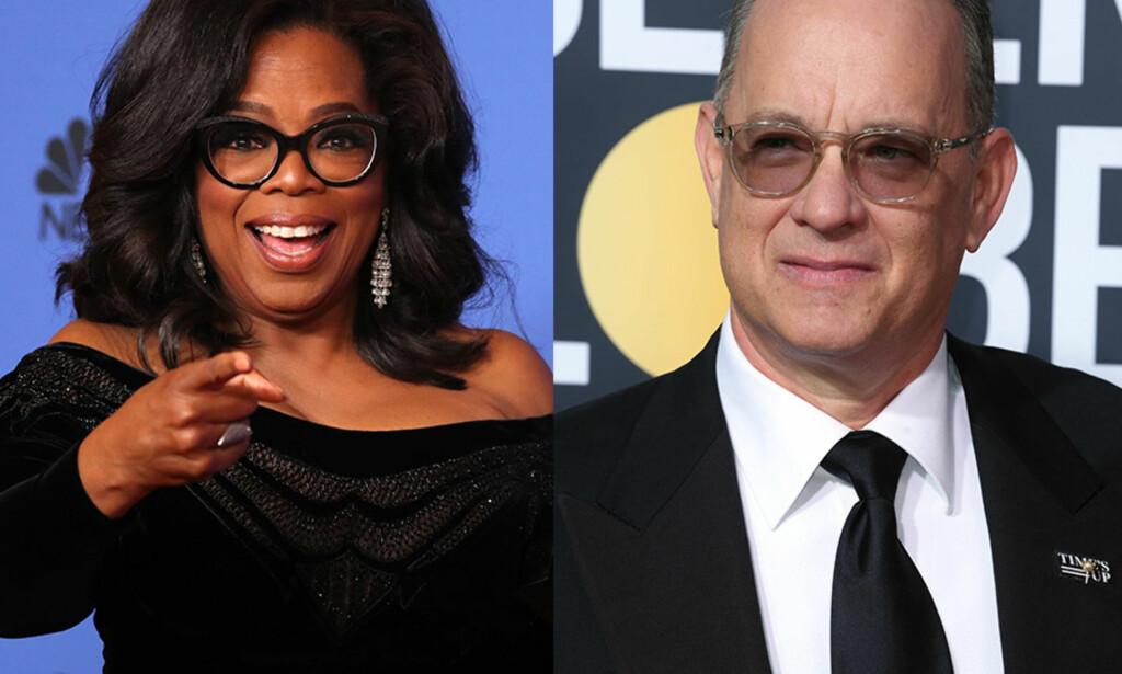 DET HVITE HUS?: Spøken til Seth Meyers satte åpenbart griller i hodet til fansen, som nå ønsker seg Tom Hanks og Oprah Winfrey til Det hvite hus. Foto: NTB scanpix