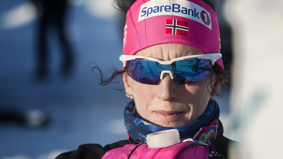HJEMMEVÆRENDE: Marit Bjørgen har vært hjemme i Norge mens flere av de andre skijentene har konkurrert i Tour de Ski. Foto: Hans Arne Vedlog / Dagbladet