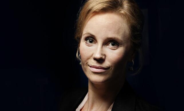 - FORTELLER HVEM JEG ER: Sofia Helin ble alvorlig skadet under en sykkeltur, 24 år gammel. Det var også slik hun pådro seg arret rundt munnpartiet. Foto: Kristian Ridder-Nielsen / Dagbladet