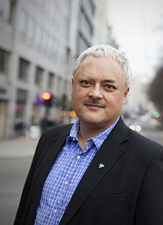 ETTERLYSER MER ANSVAR: Jorge Jensen i Forbrukerrådet vil at finansnæringen skal ta bevisbyrden når kort misbrukes, ikke kundene slik det er i dag. Foto: Forbrukerrådet