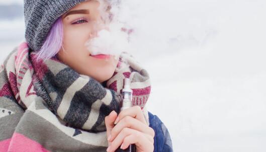 E-sigaretter med nikotin blir lovlig i Norge