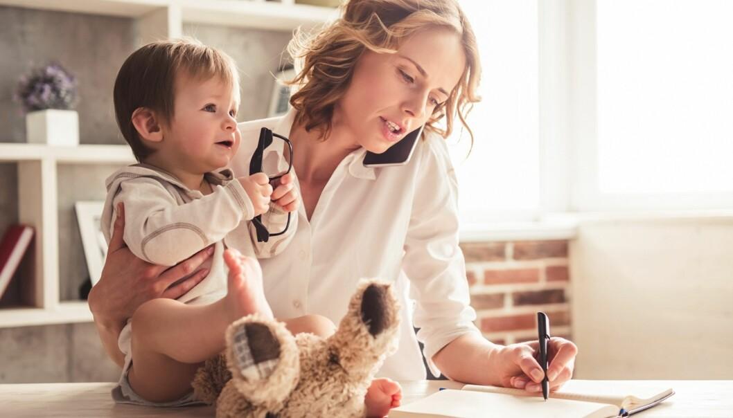 <strong>MULTITASKING:</strong> Jobben er ikke alt her i livet, så la fridagene dine være fri for jobboppgaver. Foto: Scanpix.