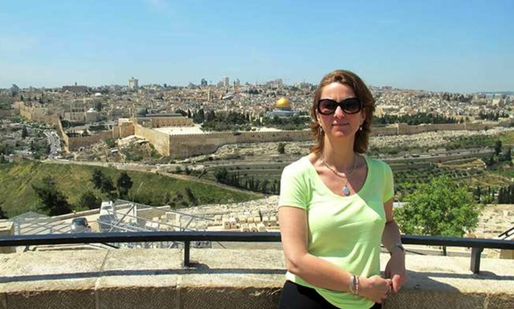 UTVIST: I helga opplevde Kirkens Nødhjelp-ansatte Liv Snesrud å bli utvist fra Israel. Snesrud har vært KNs stedlige representant i Palestina. Foto: Kirkens Nødhjelp