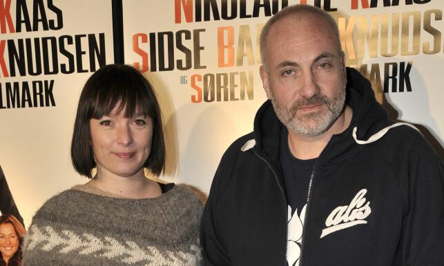 GIFT: Kim Bodnia giftet seg i all hemmelighet med Rikke Louise Andersson for fem år siden. Sammen har de tre barn. Foto: Michael Medgyesi/Aller Media DK
