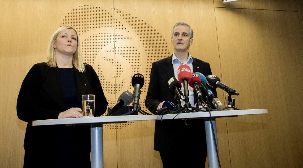 image: Jonas Gahr Støre: - De som vil så splittelse, vil ikke lykkes