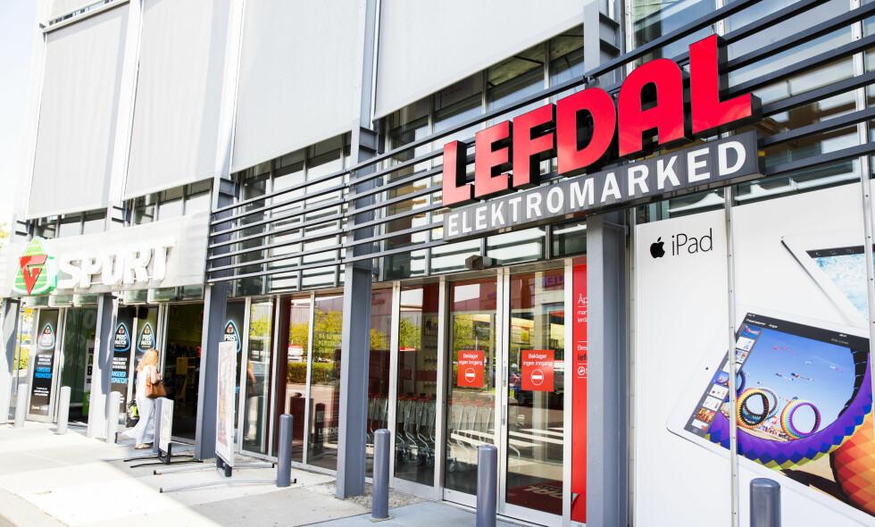 LEGGES NED: Konkurransen ble for hard for elektronikkjeden Lefdal. Nå slås butikkene sammen med Elkjøp. Foto: Berit Roald / NTB scanpix