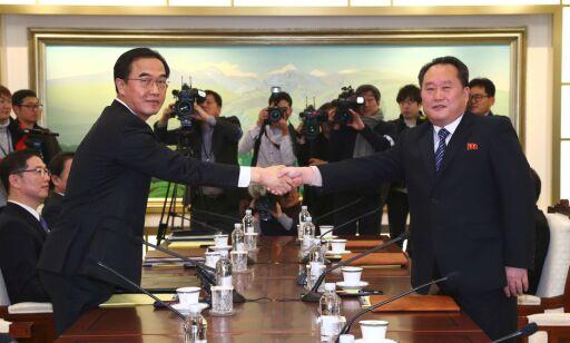 image: Nord-Korea sender delegasjon til vinter-OL