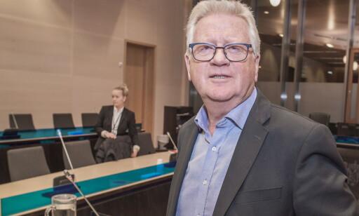FORSVARER: Ulf Egil Hansen forsvarer den siktede mannen. Foto: Hans Arne Vedlog / Dagbladet