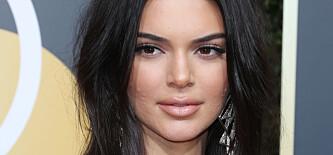 Kendalls hud vekket oppsikt på den røde løperen