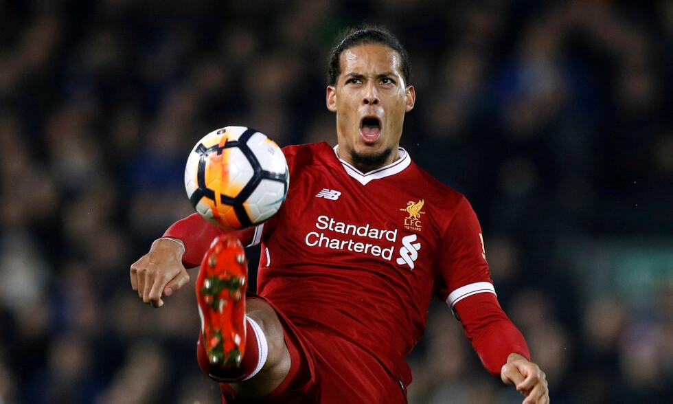 REKORDKJØP: Liverpool har aldri betalt mer for en spiller. Virgil van Dijk kostet rundt 825 millioner kroner. Foto: REUTERS/Phil Noble/NTB Scanpix