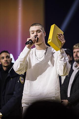 KAN VINNE FLERE PRISER: Cezinandos «Håper du har plass» ble kåret til «Årets låt» på P3 Gull 2017. Låta kan også vinne «Årets låt» under Spellemannsprisen. NTB scanpix