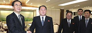 image: Nord- og Sør-Korea enige om å inngå militære samtaler