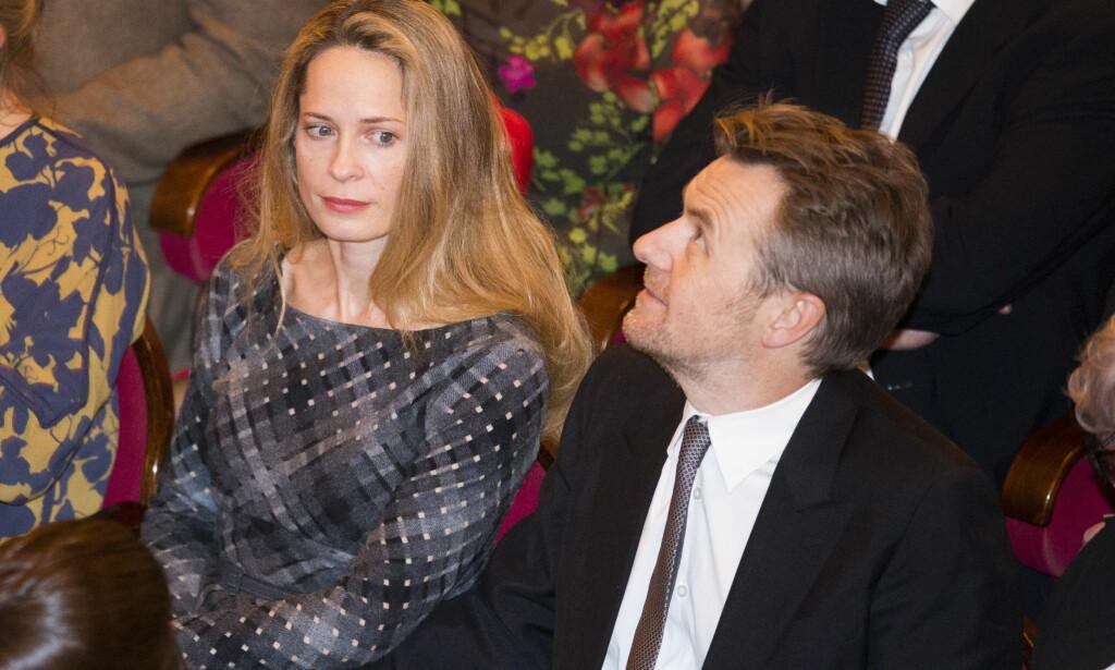 INGEN PLANER: Selv om de har bodd sammen i godt over ti år, har ikke paret noen planer om å gifte seg med det aller første. Foto: NTB scanpix