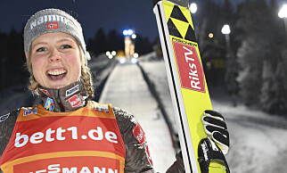 OL-HÅP: Maren Lundby. Foto: NTB scanpix