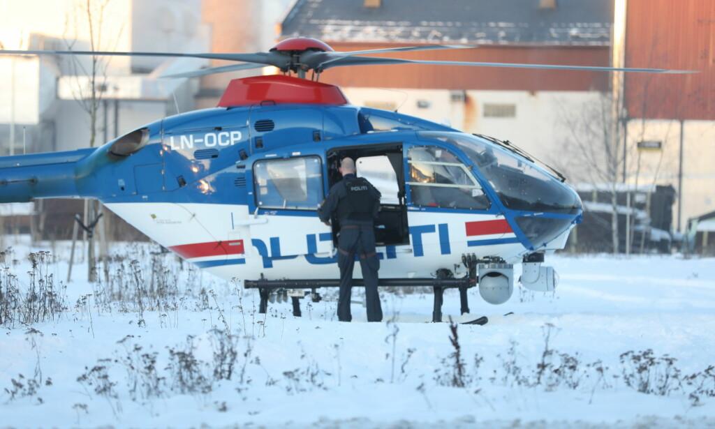 SNØDEKT: Det er mye snø og iskaldt vær i Brumunddal onsdag. Foto: Christian Roth Christensen / Dagbladet