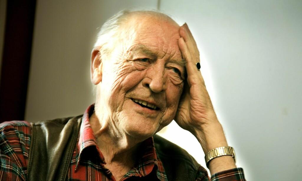 ODVAR NORDLI (1927-2018): Hans lune humor og jordnære vesen var viktige karaktertrekk hos den tidligere statsministeren. Foto: Jacques Hvistendahl / Dagbladet