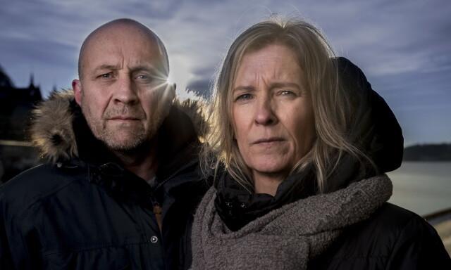 e1091192 ØNSKER RETTFERDIGHET: Bjørn Ole Mathisen og Lena Fauskerud ønsker at  dykkelederen som er siktet etter