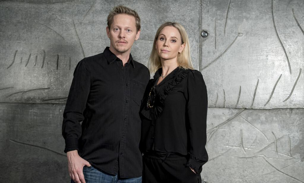 SISTE AKT: Gjennom fire sesonger har flere millioner mennesker fulgt blant andre Sofia Helin i rollen som Saga Norén. I de siste to har også skuespiller Thure Lindhardt gjort seg bemerket på skjermen. Hva angår privatlivet vet imidlertid den gjengse tv-titter lite om de to profilene. Foto: Johan Nilsson / TT / NTB scanpix