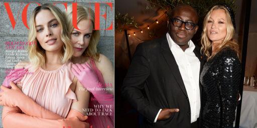 image: Britiske Vogue kritiseres for forsidevalg:- Som å kaste bensin på bålet