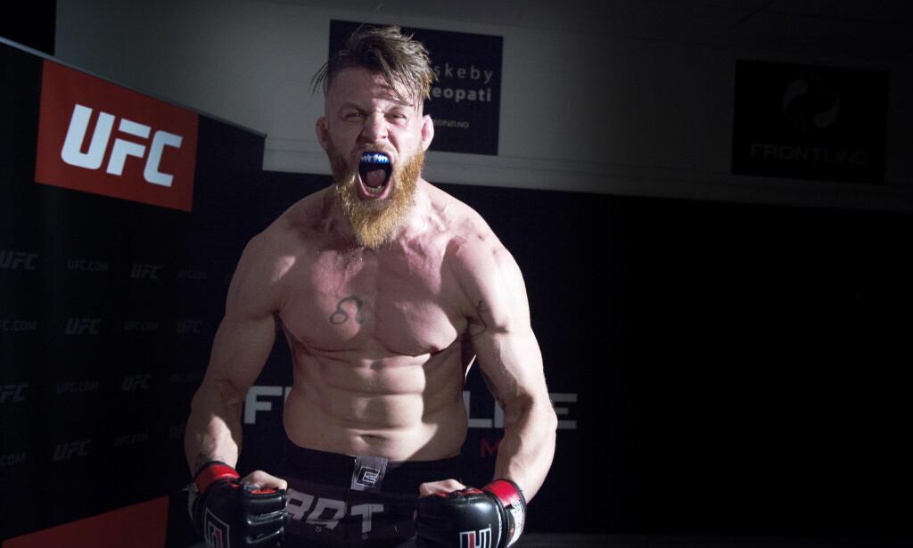 KLAR FOR ET SJOKK: MMA-ekspert sier til Dagbladet at Emil Meek kan stå for litt av et sjokk mot storfavoritten Kamaru Usman i kampen natt til mandag. Foto : Hans Arne Vedlog / Dagbladet