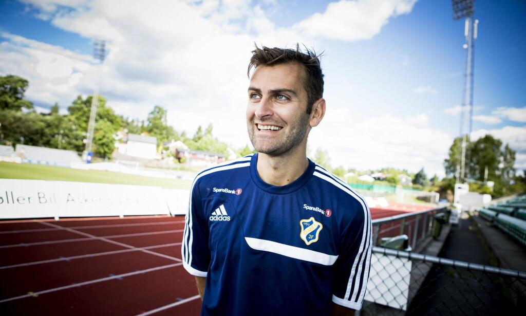 TRENER: Magne Hoseth gleder seg til å sette i gang sin nye karriere som fotballtrener. Foto: Christian Roth Christensen / Dagbladet