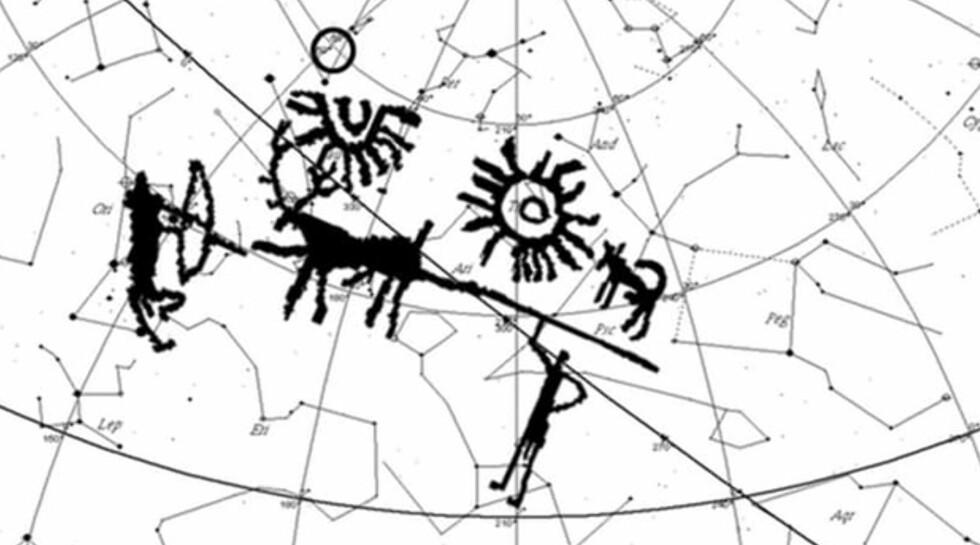 REVOLUSJONERENDE: Indiske forskere kan ha funnet den eldste beskrivelsen av en stjerneeksplosjon som noen gang er oppdaget. Foto: Mayank Vahia / Tata Reseach Institute