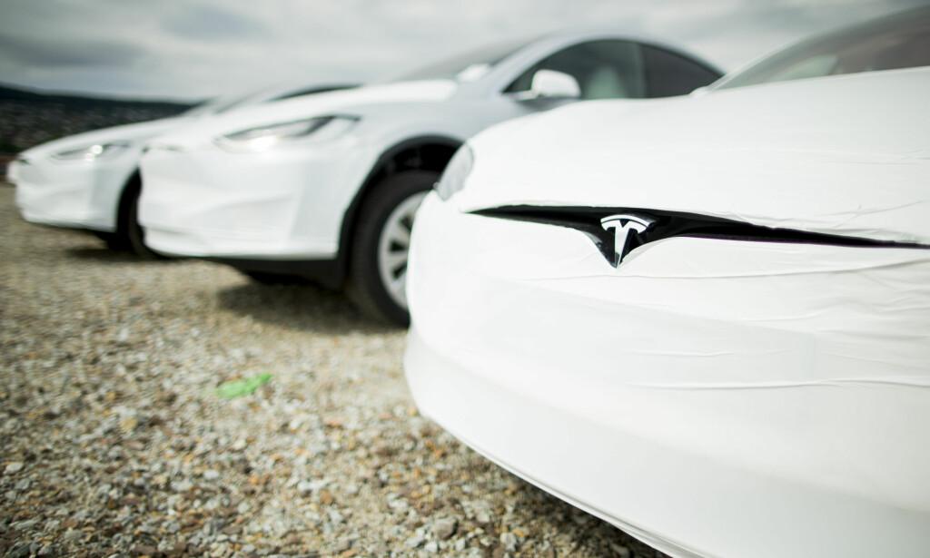 SAKSØKES: Tesla saksøkes igjen av nordmenn for mangelfull markedsføring. Foto: Vegard Wivestad Grøtt / NTB scanpix