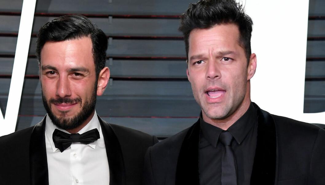 Ricky Martin giftet seg i hemmelighet