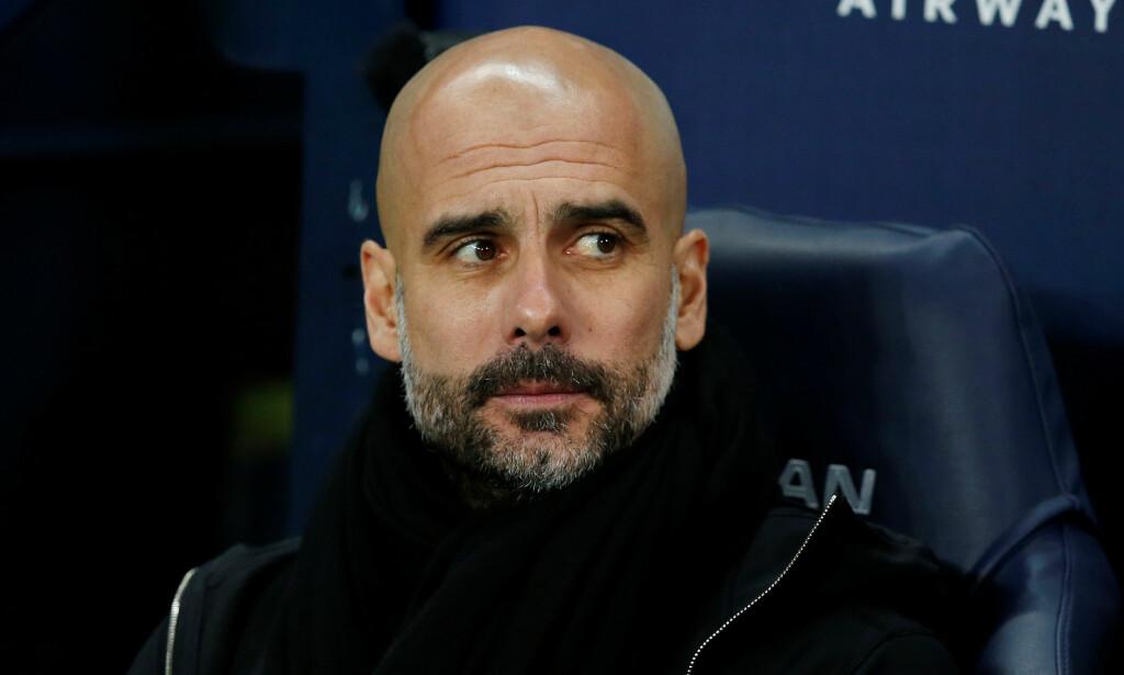 ENGLAND: Pep Guardiola trener nå Manchester City. Foto: REUTERS/Andrew Yates